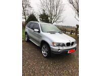 BMW x5 diesel low miles years mot may swap for a car