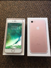 iphone 7 unlocked boxed 32gb mint cond may deliver
