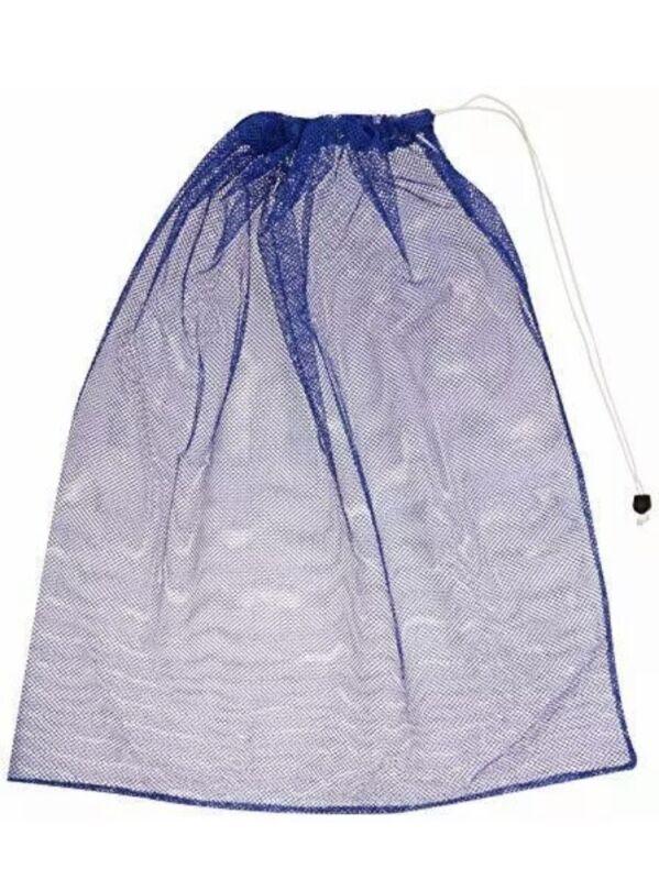 BSN Heavy-Duty Mesh Equipment Bag, Blue