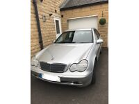 2002 Mercedes-Benz C180 Classic Auto, Four door saloon, petrol