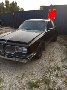 Parting out 1984 Oldsmobile cutlass or sell complete