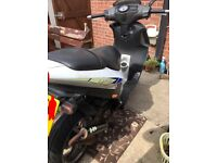 Piaggio nrg dt 50cc liquid cooled moped