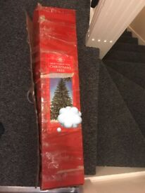 6ft Christmas tree and stand *used once*