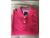 BNWOT Crew Clothing Polo Shirt Red Size M