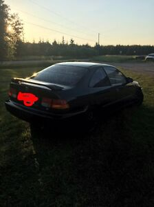 98 civic black coupe