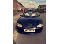 Mazda Mx5 1.8 Black Open to offers!
