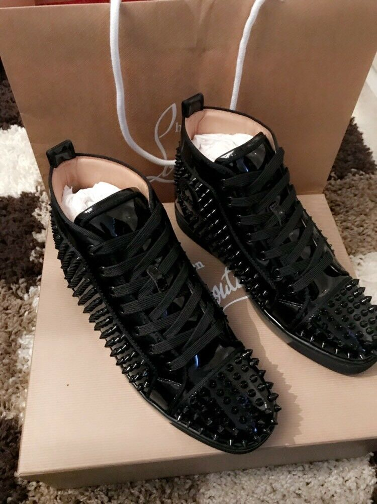 3f4b1ab58dc Authentic Christian Louboutins black size 7 worn once   in Shoreditch,  London   Gumtree