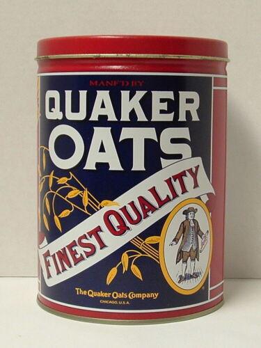 Quaker Oats 1992 Metal Empty Tin Limited Edition