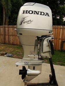 2000 Honda 90 Hp 4 Stroke 20 Outboard Motor Only 380