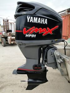 2004 yamaha vmax 250 hp hpdi 2 stroke 20 outboard motor for Motor city powersports hours