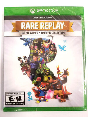 Rare Replay for XBOX ONE (BRAND NEW & FACTORY SEALED)