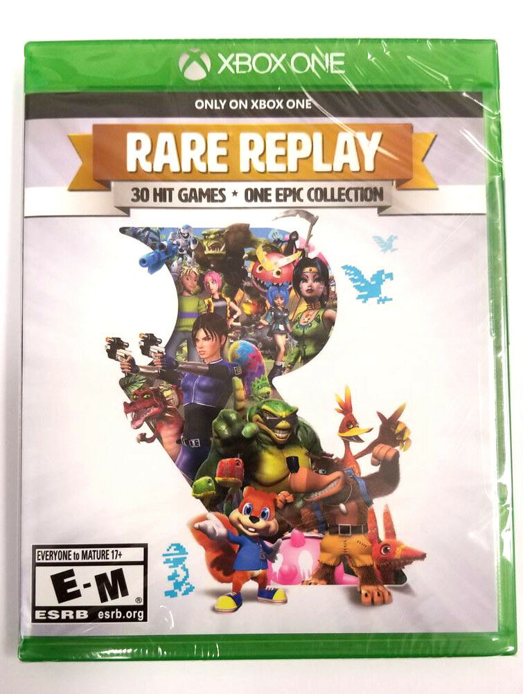 Купить Rare Replay for XBOX ONE (BRAND NEW & FACTORY SEALED)