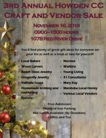 3rd Annual Howden Community Center Craft and Vendor Sale