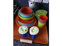 Children's plates and cups