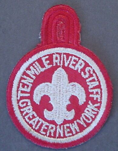 Boy Scouts Ten Mile River Scout Camp Staff Patch