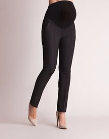 Slim Fit Black Maternity Trousers - Seraphine