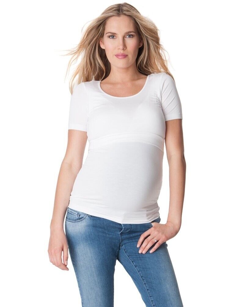 2019 best sell fashion styles clearance sale White Seraphine Maternity and Nursing Top size small UK 8 - White | in  Totton, Hampshire | Gumtree