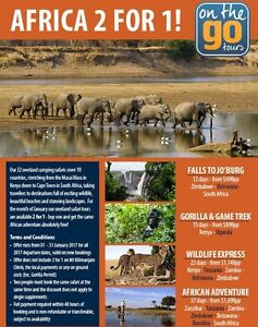 African vacation of a lifetime!