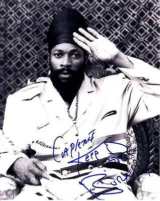CAPLETON KING SHANGO DAVID SIGNED AUTOGRAPH 8X10 PHOTO PICTURE IMAGE REGGAE