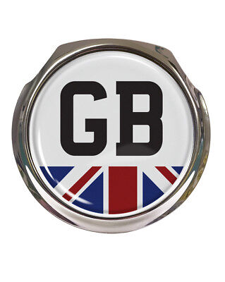 Free Fixings Car Badges Supply Gb Union Jack Car Grille Badge