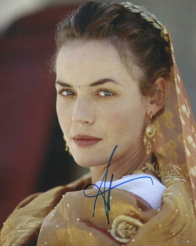 HOT SEXY CONNIE NIELSEN SIGNED 8X10 PHOTO GLADIATOR AUTHENTIC AUTOGRAPH COA A