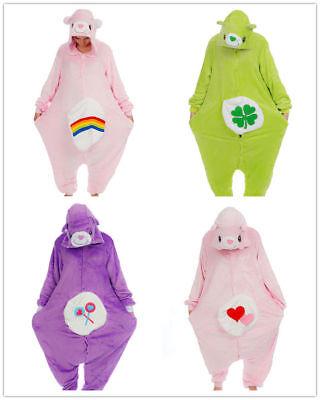 Care Bear Bär Onesie Kigurumi Pyjama Nachtwäsche Karneval - Care Bears Kostüm
