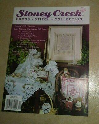 Stoney Creek Cross Stitch Collection Magazine November December 2002 -