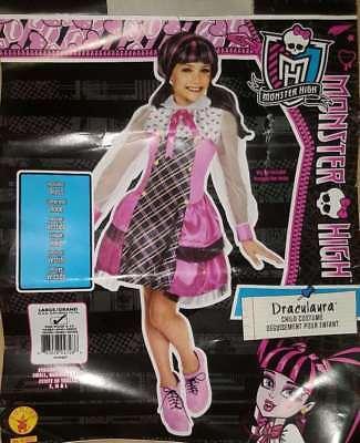 DRACULAURA Monster High Costume Girls' Size Large (12-14)](Draculaura Monster High Costume)