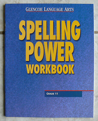 Glencoe Spelling Power Workbook Gr 11 11Th New Language Arts