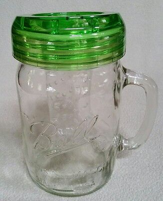 Ball Mason Drinking Cup with Travel Lid & Infuser - 16 ounce