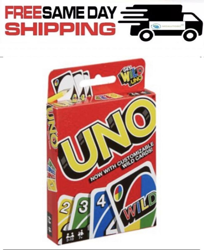 UNO CARD GAME   - Family- Friends  Fast Shipping