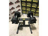 MAS Adjustable Dumbbells 20kg (New)