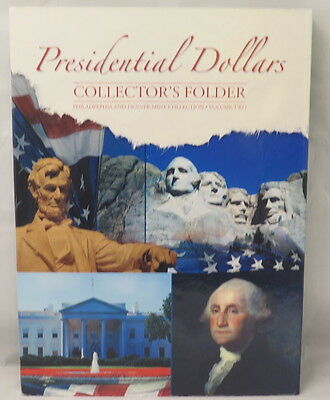 PRESIDENTIAL DOLLARS FOLDER #2, WHITMAN, P&D MINTS 2012-2016 (#2280) CLEARANCE