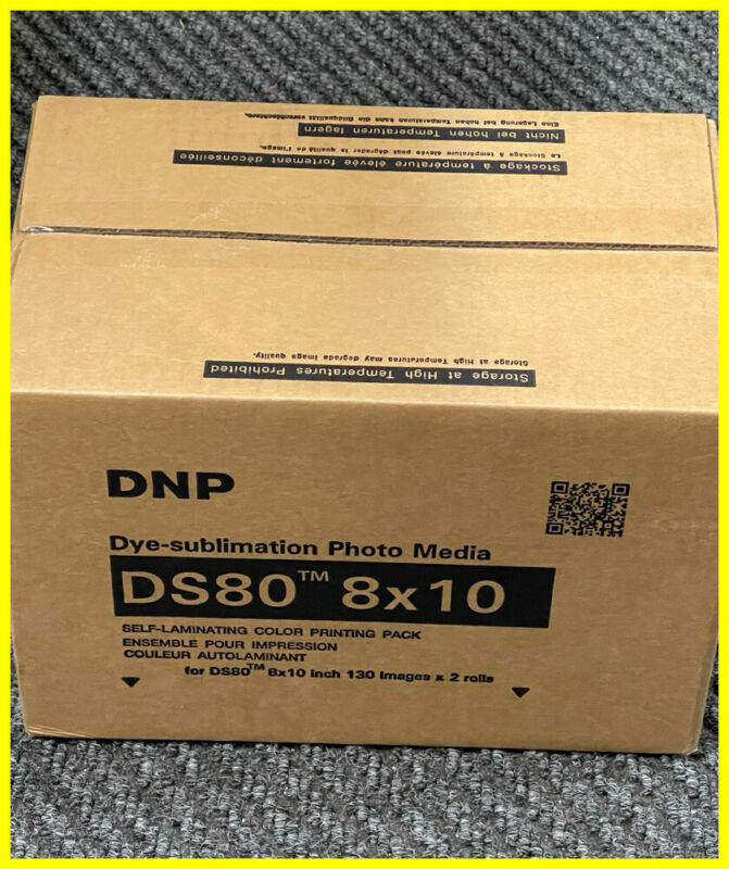 DNP DS80 8x10 Print Kit Paper & Ribbon