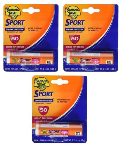 Banana Boat Sunscreen Sport Performance Broad Spectrum Sun C