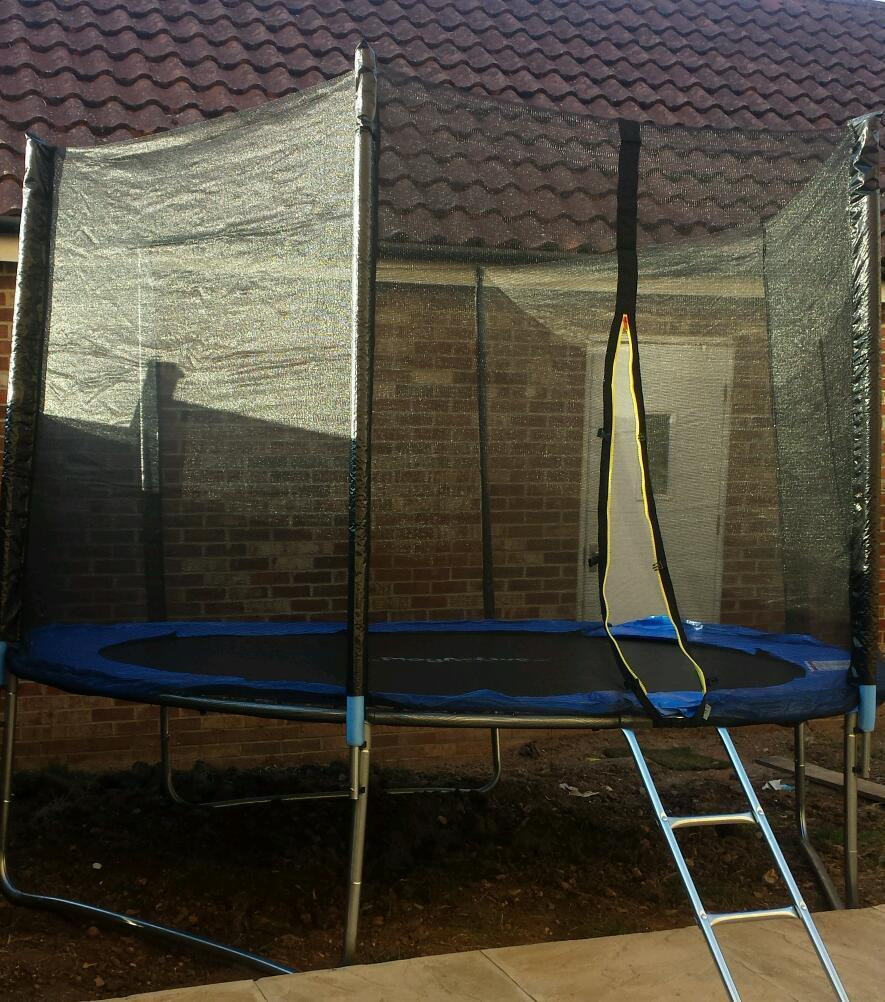 reduced for quick sale Brand new 10ft trampoline  : 86 from www.gumtree.com size 885 x 1002 jpeg 158kB
