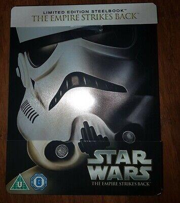 Star Wars The Empire Strikes Back Blu Ray Steelbook Brand New