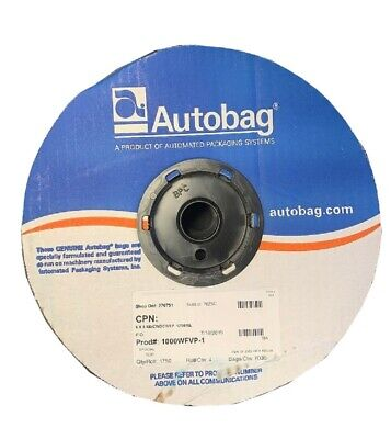 1750 Inner Poly Bags 6 X 8 On Roll Standard Duty Clear White Tear Off Autobag