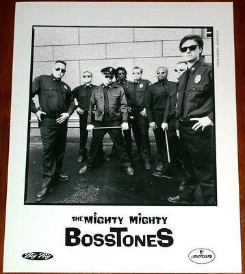 The Mighty Mighty Bosstones 8x10 B&W Press Photo Mercury Records