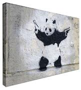 Banksy Panda Canvas