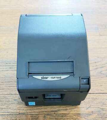 Star Tsp700ii Thermal Parallel Receipt Printer Ethernet 2