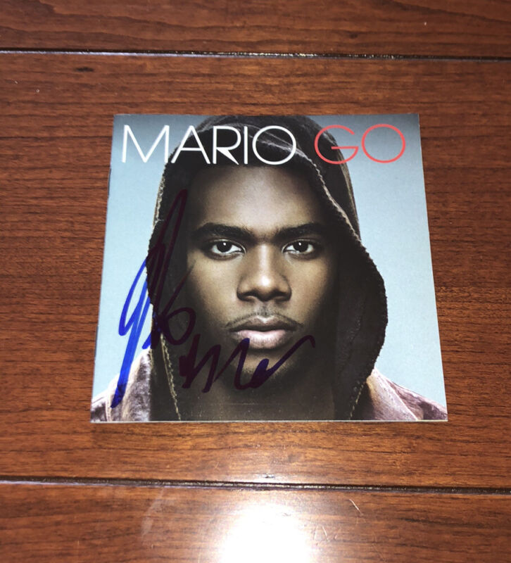 MARIO SINGER SIGNED GO CD ALBUM AUTOGRAPH Usher Omarion Turning Point WITH PROOF