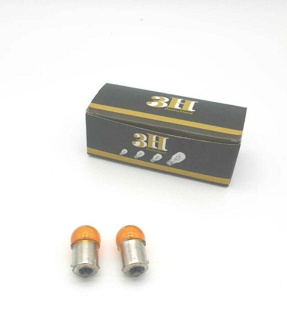 30 Stück  12V 10W Amber  BAU15s RY10W Glühlampen Glühbirne Kugellampe B2079+