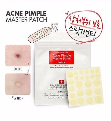 USPS Shipping] COSRX Acne Pimple Master Patch 24patches X 1 Set Pimple Patch