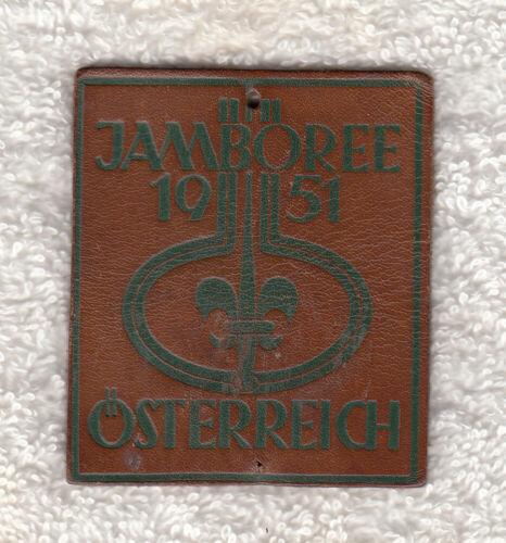 H909 7th WORLD SCOUT JAMBOREE 1951 - POCKET PATCH