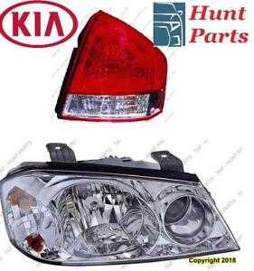 All KIA Head Lamp Tail Headlight Headlamp light Fog Mirror Phare Avant Arrière Antibrouillard Lumière Brouillard Miroir