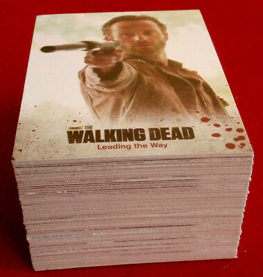 THE WALKING DEAD - Season 3 - Part 1 - COMPLETE BASE SET (72 cards) - Cryptozoic