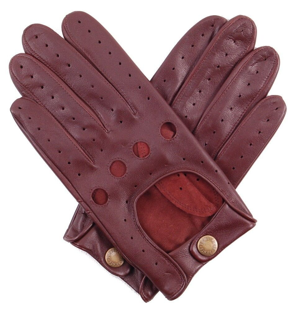 English leather driving gloves - Dents Delta Men S Hairsheep English Tan Leather Classic Driving Gloves Size M