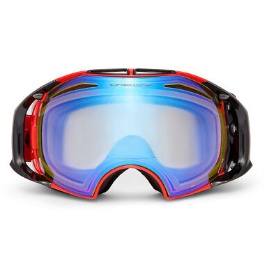$300 Oakley Airbrake Polarized Ski Goggles Red Acetate 0OO7037 007037-07 New for sale  New York