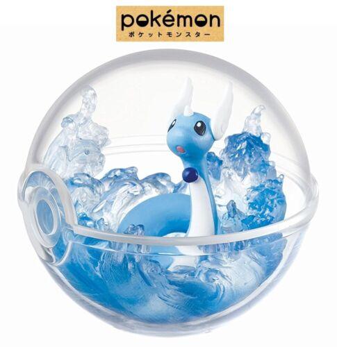 RE-MENT Pokemon Terrarium Collection Poke Ball Case Figure #5 Dragonair Hakuryu